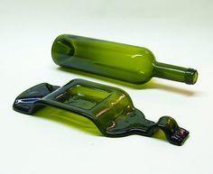 Cenicero la botella de vino botella vino desplomó derretida la