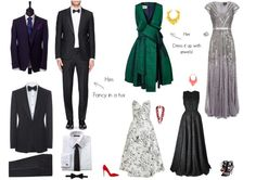 f5143b47442a What to Wear to a Formal Black Tie Wedding