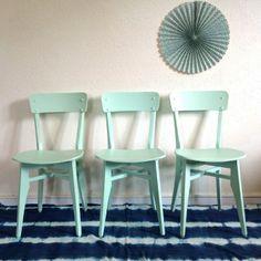 Zéline, la chaise bistrot des années 50