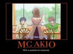 I still do not know how he pulled this off..I think Nagisa is just oblivious.