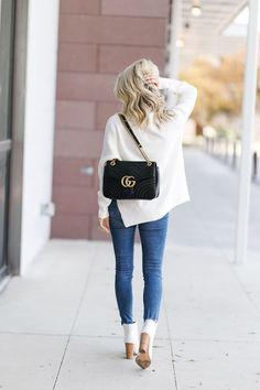 6bda5f03188b Gucci Marmont Handbag Review White Gucci Bag, Gucci Marmont Bag, Gucci  Handbags, Louis