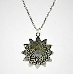 Discover your inner tranquility with this top-rated aromatherapy oil diffuser sunflower pendant! Simply open the magnetic closure and add a few drops of your favorite essential oil to one of the cotton pads and enjoy a stress relieving aroma that lasts all day. $49.00 http://www.epicstressrelievers.com/#!shop-stress-relievers/c161y