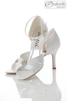 Barbara - Ankle Strap with dainty design Wedding High Heels, Wedding Shoes, Evening Dresses For Weddings, Boutique Dresses, Bridal Shoes, Elegant Wedding, Ankle Strap, Footwear, Women