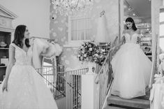 """Mirror Mirror Bridal Boutique on Instagram: """"All the princesses................................ . . New arrivals. In the boutique now. It's time to book in. . . 📸 @voyteckphoto from…"""" Mirror Mirror Bridal, All The Princesses, Bridal Boutique, One Shoulder Wedding Dress, Wedding Dresses, Book, Instagram, Fashion, Bride Gowns"""
