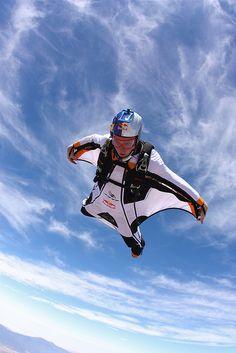 by Red Bull Air Force, via Flickr  #wingsuit