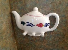 Out of my own collection. Bond, Delft, Teapots, Crafts To Make, Holland, Dutch, Pottery, Hand Painted, Tableware