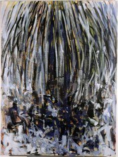 Joan Mitchell(Am. 1926-1992),Tilleul,1978,huile sur toile, 240 x 180cm,Nantes, musée des Beaux-Arts