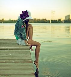 I want senior pictures at my lake house!