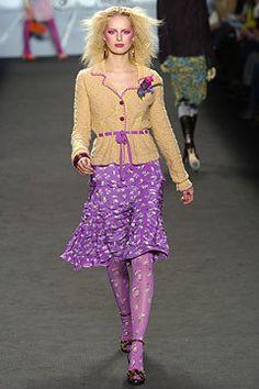 Anna Sui, Autumn/Winter 2004, Ready to Wear