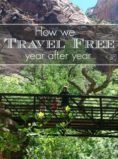 How we travel for free year after year with our kids, and tips on how you can too!! Ways To Travel, Travel Advice, Places To Travel, Travel Tips, Travel Destinations, Travel Hacks, Travel Ideas, Budget Travel, Travel Inspiration