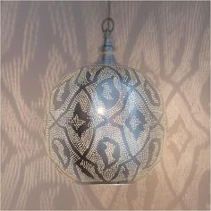 Zenza Ball Filigrain Medium Pendant Light - Pomegranate Living