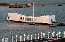 Pearl Harbor. Arizona WWII Memorial