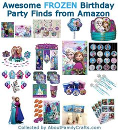 75+ DIY Frozen Birthday Party Ideas | About Family Crafts