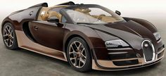2014 Bugatti Veyron Rembrandt Edition: 8.0 Liter W16 Turbo with 1200 Horsepower. 0 to 60 mph in 2.6 seconds. Top Speed of 254 mph. Est. price $3,700,000.00