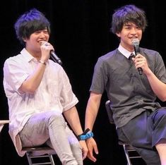 _(´ཫ`* _)⌒)_  #声優#斉藤壮馬#石川界人 Ishikawa, Actors, Voice Actor, Kaito, The Voice, Actor