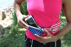 Amazon.com : American Flag Sport Waist Pack Belt : Sports & Outdoors