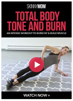 The total body tone and burn that will have you losing weight fast! Lose weight for the new year and keep it off with this full body workout video. #totalbodytransformation