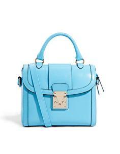 Image 1 ofASOS Bag With Chunky Lock And Tophandle