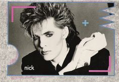 Nick Rhodes -- 1984-YES I had this poster