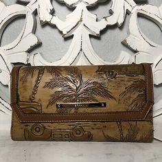 Brahmin Soft Checkbook Wallet Tan Copa Cabana Leather  749034298853 | eBay Brahmin Handbags, Checkbook Cover, Pen Holders, Cabana, Classic Style, Jewelry Design, Wallet, Best Deals, Leather