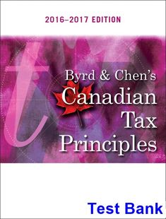 College physics a strategic approach technology update 3rd edition test bank for byrd and chens canadian tax principles canadian edition by byrd ibsn 9780134568393 2018 test bank and solutions manual fandeluxe Images
