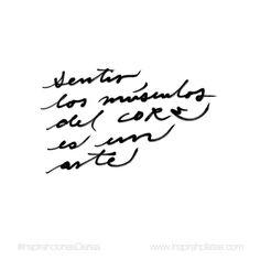 Sentir los músculos del core es un arte. Implica el balance perfecto entre relajación y conciencia de la respiración.  #InspirahcionesDiarias por @CandiaRaquel  Inspirah mueve y crea la realidad que deseas vivir subscribiéndote gratis a las videoinspirahciones semanales por email en:  http://ift.tt/1LPkaRs