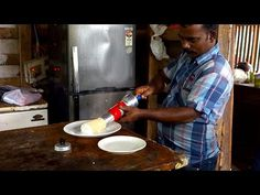 Puttu - Whole wheat flour and coconut roll - Authentic video recipe from a small restaurant in Kerala, India (source: my personnal food and travel blog / vlog with recipes, authentic video recipes, street food, food and travel documentary, travel info and more. Welcome! :) )