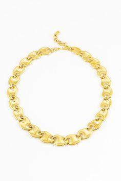 70's Chunky Geo Statement Bib Necklace #vintage #statement #jewelry http://www.sweetandspark.com