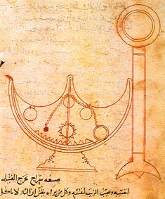 The Banu Musa and the Book of Ingenious Devices, So during the under the Abbasid Caliphate, there was a university in Baghdad that was called the House of Wisdom. It was initially founded. Islamic World, Islamic Art, Katie Scott, House Of Wisdom, Abbasid Caliphate, Ancient Music, Ancient Persian, Bagdad, Greek Words