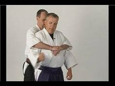 Aikido Basics: Wrist Lock Twist : Aikido Sankyo Front Choke Defense - YouTube