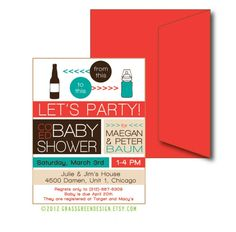 Baby Shower : Coed Baby Shower Invitations Ideas - Cool Baby Shower Party Invitations Ideas