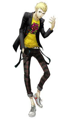 Ryuji Sakamoto from Persona 5