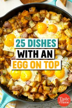 25 Dishes with an Egg on Top recipes for dinner 25 Dishes with an Egg on Top Top Recipes, Cooking Recipes, Recipes With Egg On Top, Recipies, Steak And Eggs Diet, Egg Recipes For Dinner, Egg And Grapefruit Diet, Boiled Egg Diet Plan, Rhubarb And Custard