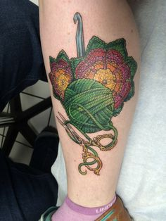 Crochet tattoo!