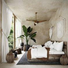 Dream Bedroom, Home Bedroom, Bedroom Decor, Interior Design Inspiration, Room Inspiration, Casa Petra, Tulum, Deco Boheme Chic, Beautiful Bedrooms