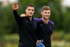Enfield England, Ben Davies, Erik Lamela, Tottenham Hotspur Fc, July 10, Training Center, Centre, Soccer, Seasons