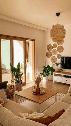 Home Room Design, Interior Design Living Room, Living Room Designs, House Design, Living Room Decor Cozy, Boho Living Room, Diy Bedroom Decor, Warm Living Rooms, Cozy Apartment Decor