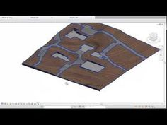 BIM - Revit Site Design 02 Creating Roads and Flat surfaces - YouTube