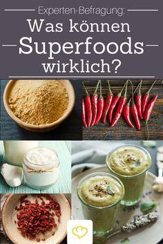 Die Wahrheit über Superfoods - Wir haben mit Experten gesprochen und verraten was Goji-Beeren, Spirulina-Algen, Maca & Co wirklich können!