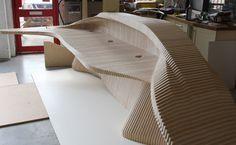 CNC Routing :: Reception Desk
