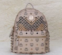 2014 MCM Backpack Collection Khaki -- MCM Bags