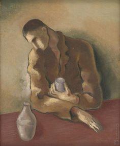 Mikuláš Galanda: Pijan:1933