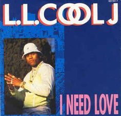 LL Cool J vinyl I Need Love single in picture sleeve 45 rpm record gift for rap music fan hiphop hip hop eighties 1987 I Need Love, Still In Love, 1970s Music, Def Jam Recordings, Hip Hop Songs, Ll Cool J, R&b Soul, Vintage Records, Rap Music