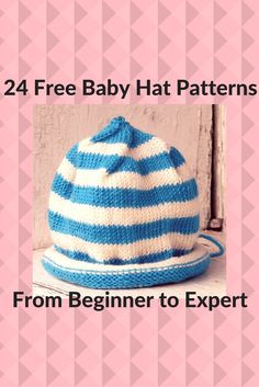 Beginner Baby Knitting Patterns Easy Ba Blanket Knitting Pattern Great Way To Start Knitting. Beginner Baby Knitting Patterns Free Knitting Patterns F. Knitting For Charity, Knitting Blogs, Loom Knitting, Free Knitting, Knitting Projects, Start Knitting, Baby Hat Knitting Patterns Free, Baby Boy Knitting, Baby Hat Patterns