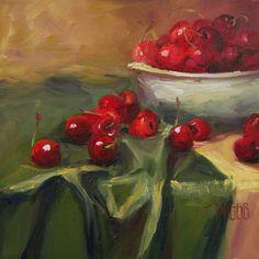 LORI TWIGGS    CherriesOverboard.jpg (1000×1000)