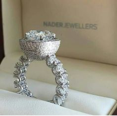 Nader Jewellers wedding ring option.