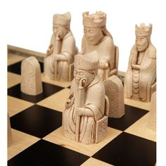 Our best-selling premium quality replica of The Lewis Chess Set.