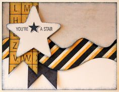 love this, try on a scrapbook page