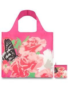 LOQI Prima Carnation Reusable Shopping Bag, Available at #EssentialApparel