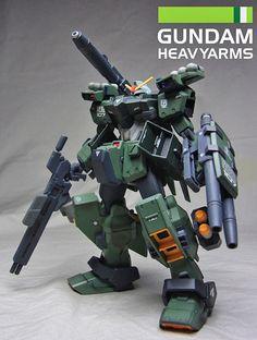 GUNDAM GUY: HG 1/144 Heavyarms Gundam - Custom Build